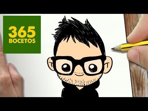 Como dibujar al Youtuber Mangel