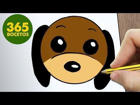 Como dibujar carita de perro Slinky de Toy Story