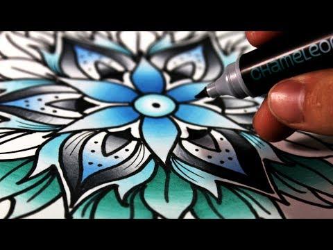 Como dibujar con Degradados Perfectos