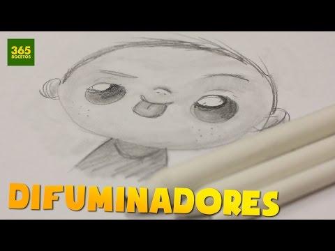 Como dibujar con Difuminadores