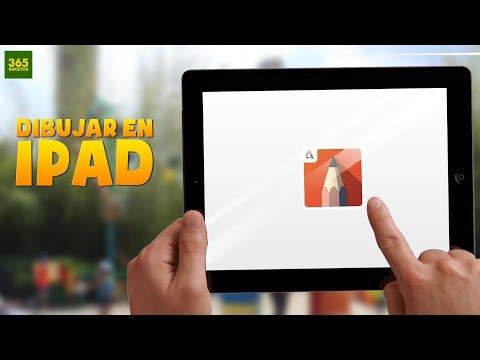 Como dibujar con iPad y el programa Sketchbook Pro