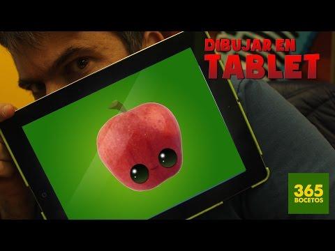 Como dibujar con Tablet: Manzana