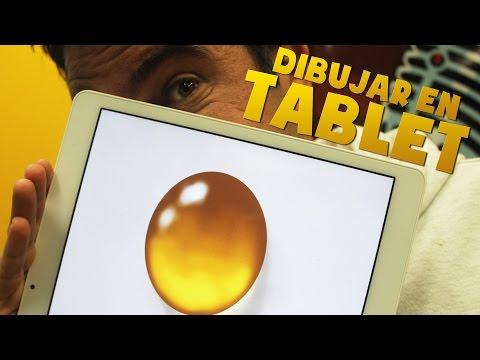 Como dibujar con Tablet: Una gota de Agua