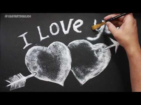 Como dibujar corazones para San Valentín