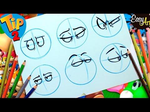 Cómo dibujar diferentes estilos de Ojos