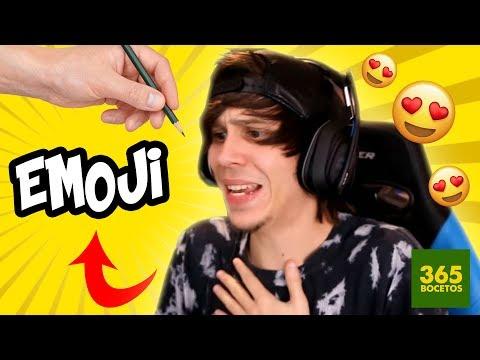 Como dibujar el Emoji de ElRubiusOMG