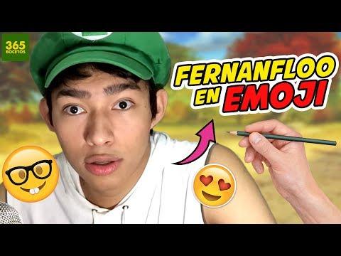 Como dibujar el Emoji de Fernanfloo