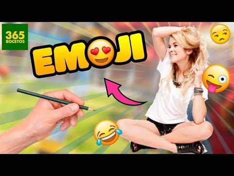Como dibujar el Emoji de Lenay