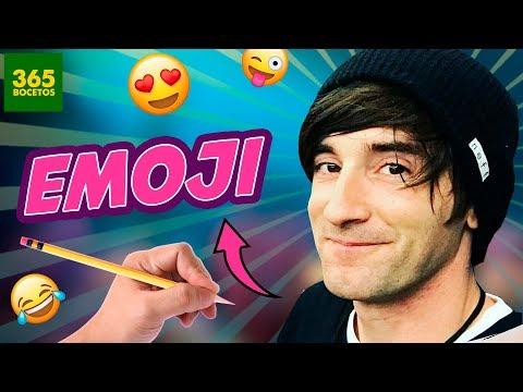 Como dibujar el Emoji de LuzuGames