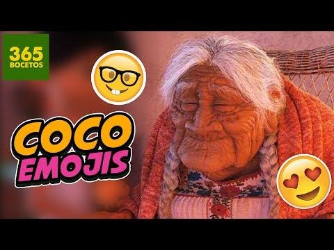 Como dibujar el Emoji de Mamá Coco de Pixar