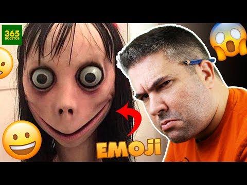 Como dibujar el Emoji de Momo