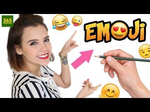 Como dibujar el Emoji de Yuya