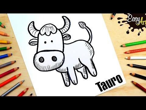 Como dibujar el zodiaco Tauro
