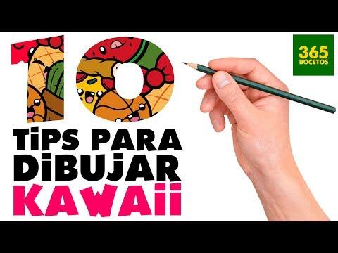 Como dibujar kawaii con 10 trucos