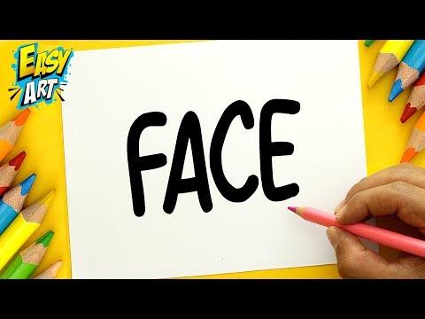 Como dibujar la cara de un chico fácil