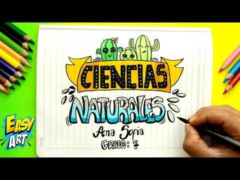 Como Dibujar La Portada De Ciencias Naturales