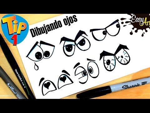 Como dibujar Ojos de diferentes estilos