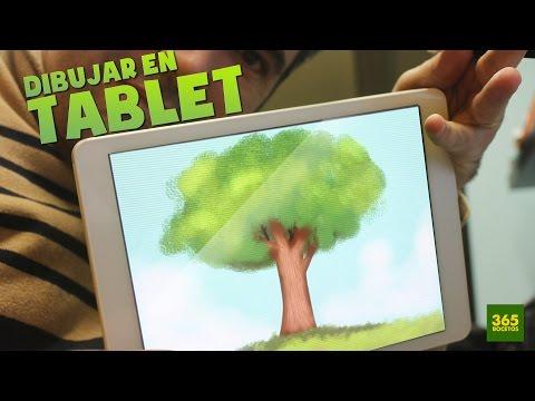 Como dibujar un Árbol con Tablet