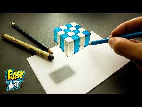 Como dibujar un Cubo en 3D