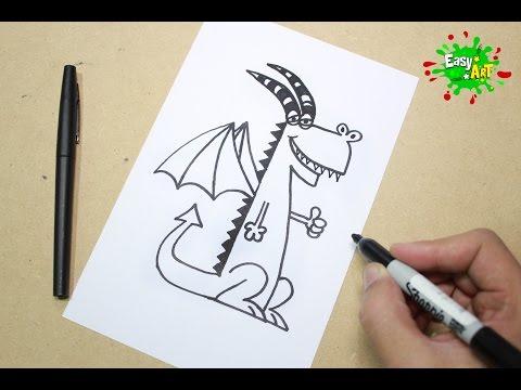 Como Dibujar un Dragón