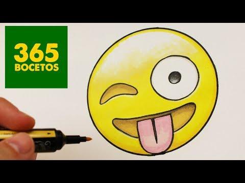 Como dibujar un Emoji paso a paso
