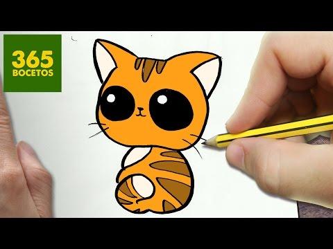 Como dibujar un  gato