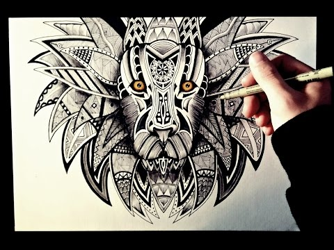 Dibujo Zentangle