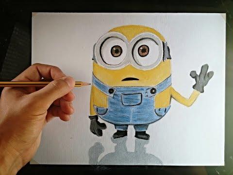 Como dibujar Minions