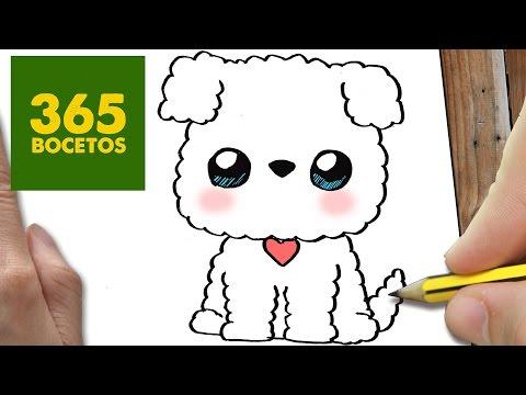 Como dibujar un perrito muy mono