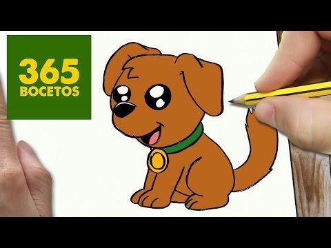 Como dibujar un Perro muy fácil