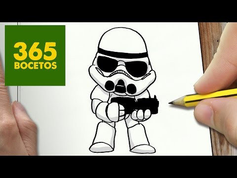 Como dibujar Star Wars