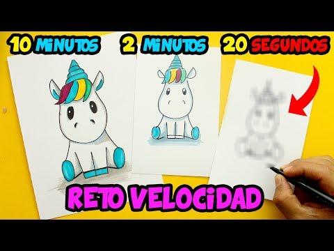 Como dibujar un Unicornio CUTE muy rápido