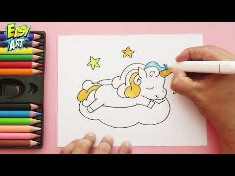 Como Dibujar Un Unicornio Facil