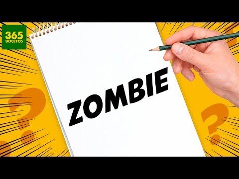 Como dibujar un Zombie a partir de sus letras