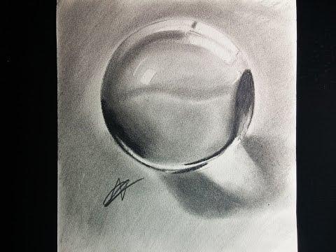 Como dibujar una bola de cristal realista