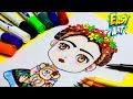 Como dibujar a Frida Kahlo