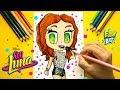 Como dibujar a Luna Valente estilo CUTE