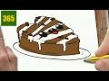 Como dibujar un Corazón de Chocolate kawaii