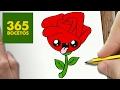 Como dibujar una Rosa sencilla
